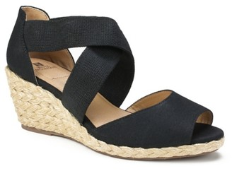 White Mountain Hudlin Espadrile Wedge Sandal