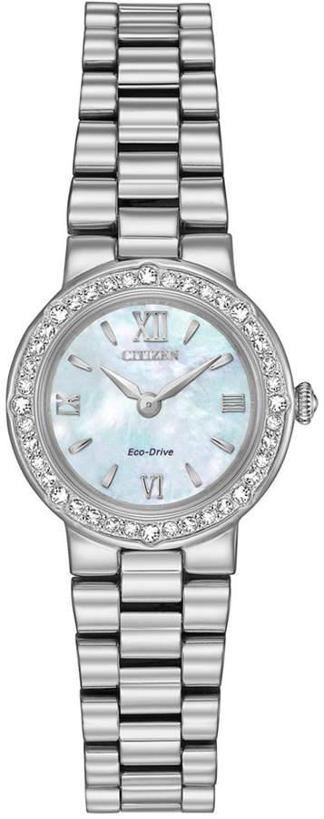 Citizen Women's Eco-Drive Stainless Steel Bracelet Watch 23mm EW9820-54N