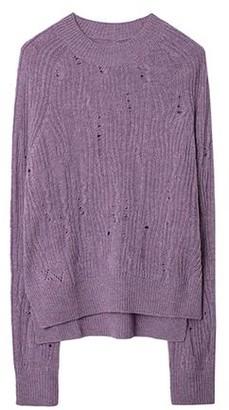 Zadig & Voltaire Lili C Destroy Cashmere Sweater