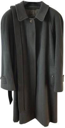 Burberry Khaki Wool Coat for Women Vintage