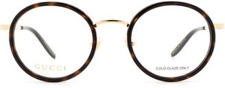 Gucci Gg0679oa Havana Glasses