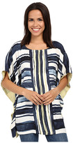 Miraclebody Jeans Tonya Woven Tunic w/ Body-Shaping Inner Shell