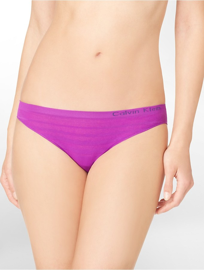 Calvin Klein Second Skin Seamless Ombre Bikini
