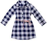 Sweet Heart Rose Belted Plaid Shirtdress, Toddler & Little Girls (2T-6X)