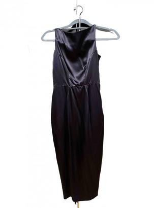 Agent Provocateur Navy Silk Dress for Women
