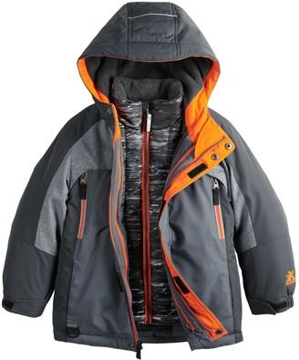 ZeroXposur Boys 4-7 Trevor System 3-In-1 Jacket