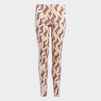 adidas Allover Print Leggings