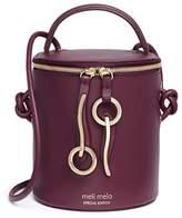Meli-Melo x Olivia Palermo 'Severine' leather bucket bag
