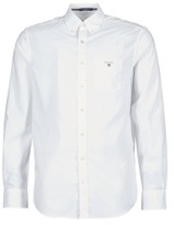 Gant PLAIN BROADCLOTH REGULAR White