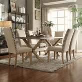 HomeVance Marciella 7-piece Zinc Dining Set