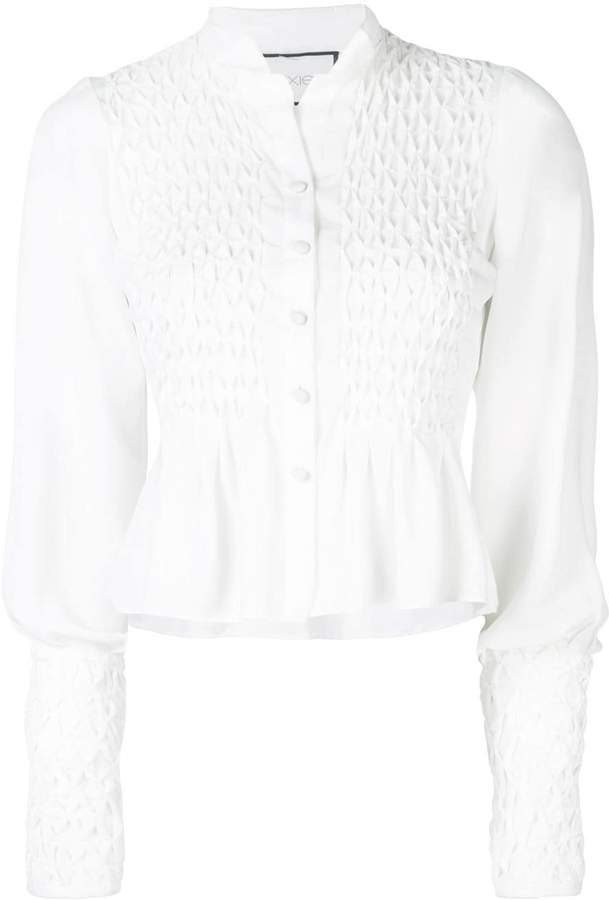 Alexis Capizzi embroidered top