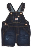Infant Boy's Levi's Denim Overalls