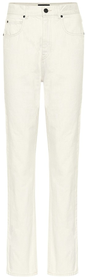 Isabel Marant Dustin high-rise straight jeans