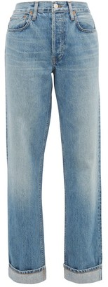 RE/DONE 90s Loose-fit Straight Jeans - Womens - Blue