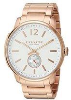 Coach Men's Bleecker - 14602079 Parchment Watch