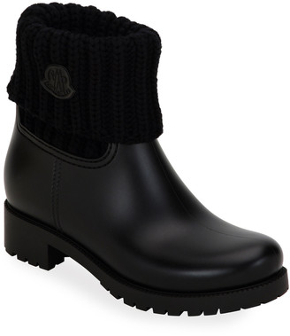 Moncler Ginette Cuffed Rain Boots