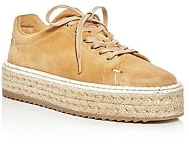 Rag & Bone Women's Kent Suede Platform Espadrille Sneakers