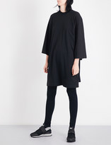 Y-3 Y3 Graphic oversized cotton-jersey T-shirt