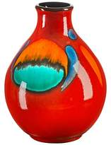 Poole Pottery Volcano Purse Bud Vase, 12.5cm