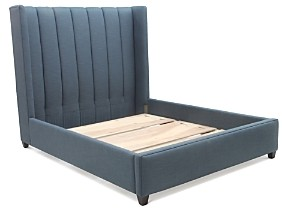 Bloomingdale's Artisan Collection Levi Channeled King Bed - 100% Exclusive