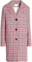 Claudie Pierlot Checked Cotton-Blend Coat