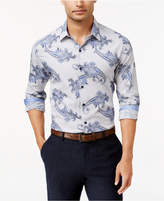 Tasso Elba Men's Paisley Long-Sleeve Classic-Fit Shirt, Only at Macy's