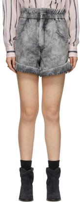 Etoile Isabel Marant Black Denim Itea Shorts