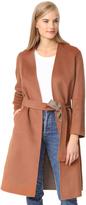 Vince Reversible Belted Coat