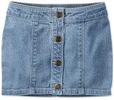 Carter's Button-Front Denim Skirt, Little Girls (2-6X)