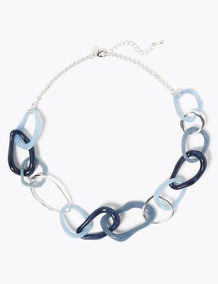 Marks and Spencer Resin Link Necklace