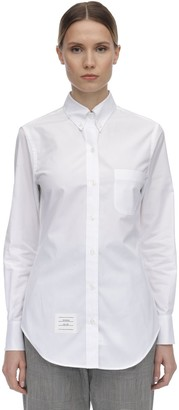 Thom Browne Cotton Poplin Shirt