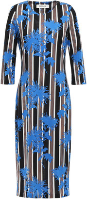 Diane von Furstenberg Printed Silk-jersey Dress