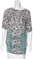 Veronica Beard Silk Printed Top