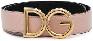 Dolce & Gabbana reversible logo belt