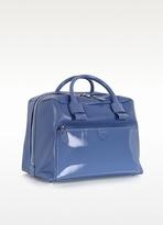 Marc Jacobs Small Antonia Denim Blue Leather Satchel