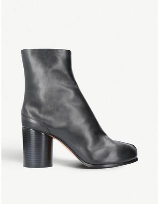 Maison Margiela Tabi heeled leather boots