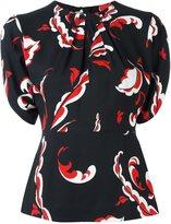 MSGM floral print blouse - women - Viscose - 38