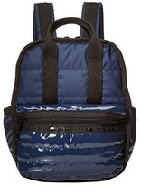Le Sport Sac Gabrielle Micro Backpack (Navy Patent) Backpack Bags