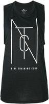 Nike logo print tank top