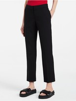 Calvin Klein Tropical Wool Cropped Pants