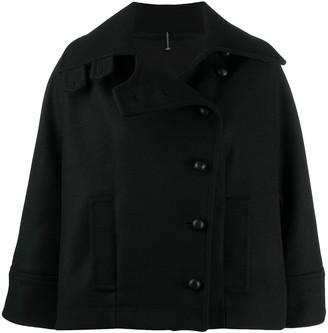 Pierantonio Gaspari Off-Centre Buttoned Up Jacket