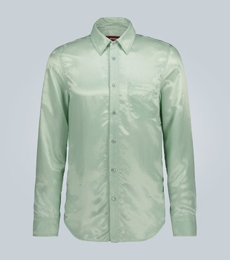 Sies Marjan Sander satin twill shirt