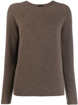 Joseph long sleeve knitted top