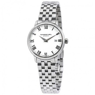 Raymond Weil Womens Analogue Quartz Watch with Stainless Steel Strap 5988-ST-00300