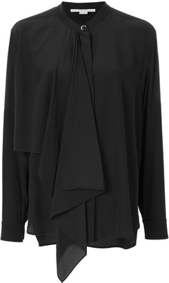 Stella McCartney Draped-Panel Blouse