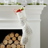 Crate & Barrel Isabella Stocking