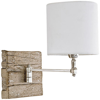 REGINA ANDREW Swing-Arm Pinup Sconce - Wood