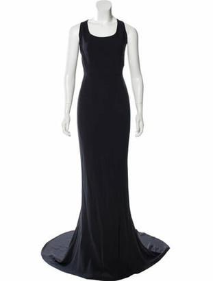 Stella McCartney Sleeveless Maxi Dress Blue