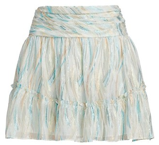 Ramy Brook Fiora Skirt Flounce Mini Skirt