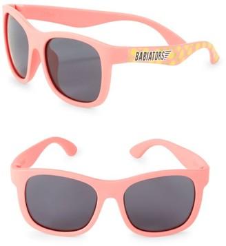 Babiators Kid's 45MM Navigator Pineapple Wayfarer Sunglasses